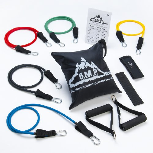 Black-Mountain-Products-Resistance-Band-Set-with-Door-Anchor-Ankle-Strap-Exercise-Chart-and-Resistance-Band-Carrying-Case-0-0