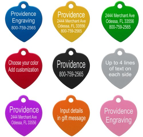 Pet-ID-Tags-8-Shapes-Colors-to-Choose-From-Dog-Cat-Aluminum-0-1
