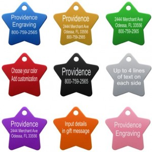 Pet-ID-Tags-8-Shapes-Colors-to-Choose-From-Dog-Cat-Aluminum-0-2