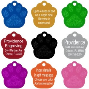 Pet-ID-Tags-8-Shapes-Colors-to-Choose-From-Dog-Cat-Aluminum-0-3